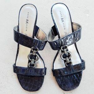 Anne Klein 👉Navy Blue Sandals!
